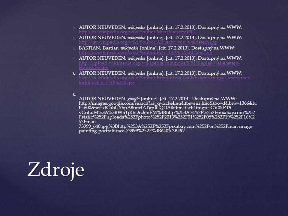 AUTOR NEUVEDEN. wikipedie [online]. [cit. 17. 2. 2013]